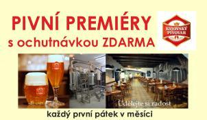 Pivní premiéra - leden Černá Mamba - tmavý Porter 18%