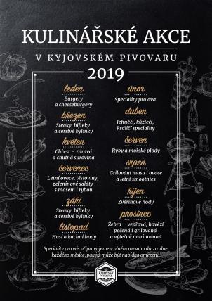 Kulinářský kalendář 2019